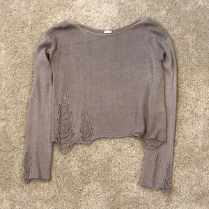 Garage Ripped Sweater